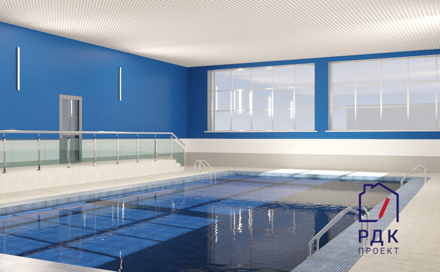 Дизайн проект спорткомплекса Олимпийский в городе Набережные Челны
